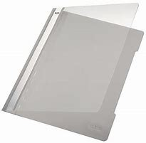 Leitz Standard Plastic File A4 Grey