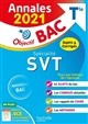 ANNALES BAC 2021 SPE SVT TERM